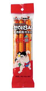 中国で人気のバ韓国製魚肉ソーセージ