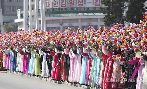 南北首脳会談で歓迎ムードの北朝鮮