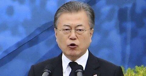 国民に寄付を強要するバ韓国の文大統領