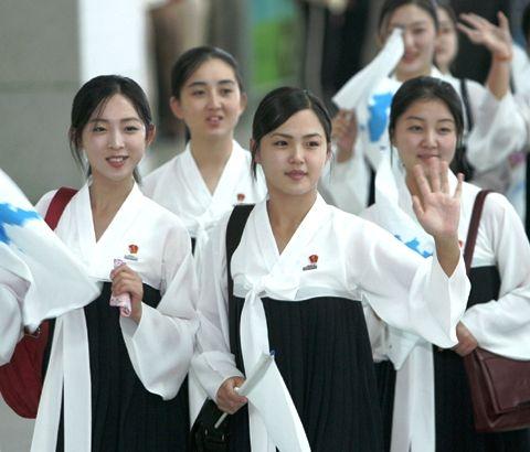 北チョンの女性たち