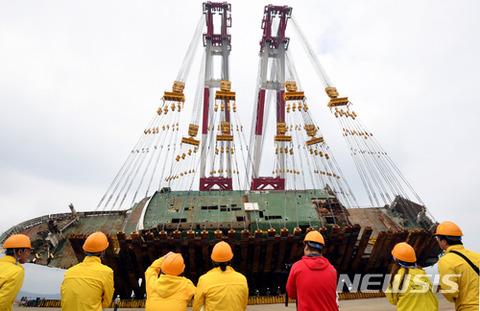 バ韓国で第二のセウォル号事故が起きるのを期待