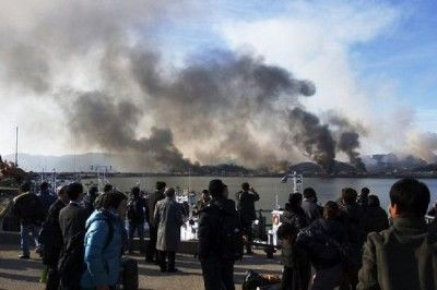 北朝鮮の攻撃で屑チョン4匹が死亡した延坪島