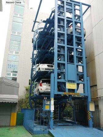 ソウルの立体駐車場(イメージ)