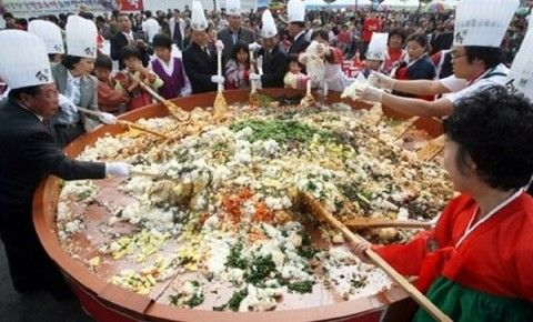 生ごみを主食にしているバ韓国塵