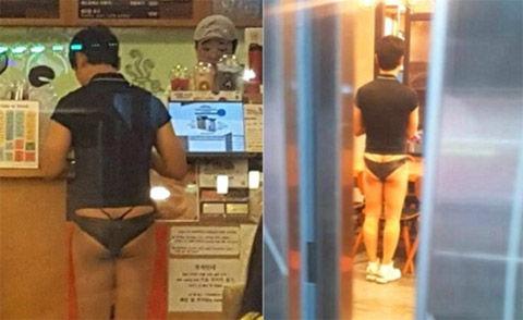 メスの下着を履いて出歩くキチガイバ韓国塵