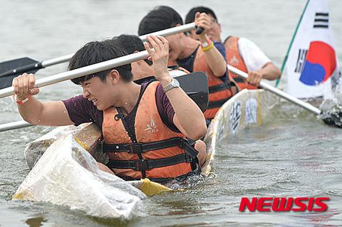 沈没船イベントを楽しむバ韓国塵