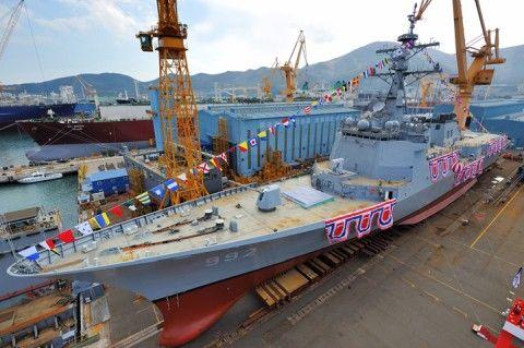 バ韓国の駆逐艦、1日1回以上システムダウン