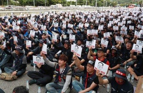 労働組合の活躍でバ韓国経済崩壊が加速化