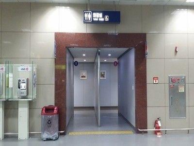 盗撮多発中のバ韓国の公衆トイレ