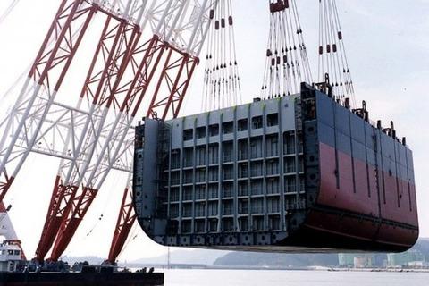 完全に死に体となったバ韓国の造船業
