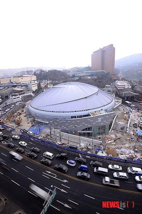 ソウルの奨忠体育館