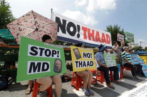 THAAD配備で崩壊寸前のバ韓国