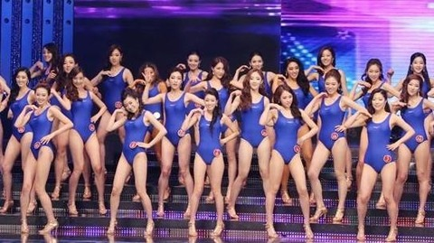 裏金の量で優勝が決まるバ韓国のミスコリアコンテスト