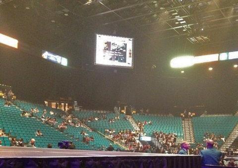 KARAのコンサートの観客席(本番中です!)