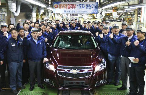 バ韓国GMが過去最高の赤字を記録