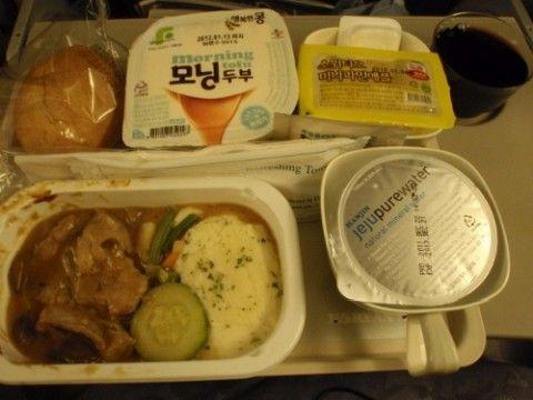 大韓航空の機内食は発がん物質まみれ