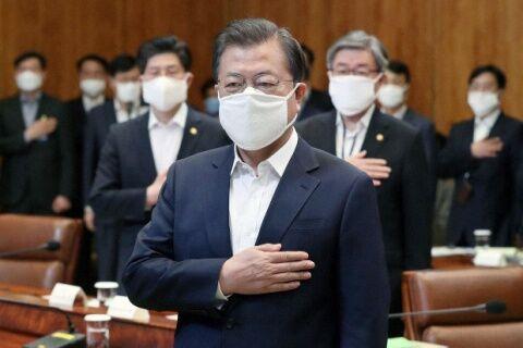 自国民の殺害に長けたバ韓国の文大統領