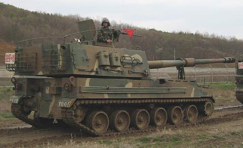 弾薬不足が判明したバ韓国のK9自走砲