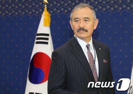 バ韓国政府から口撃されているハリス駐韓大使