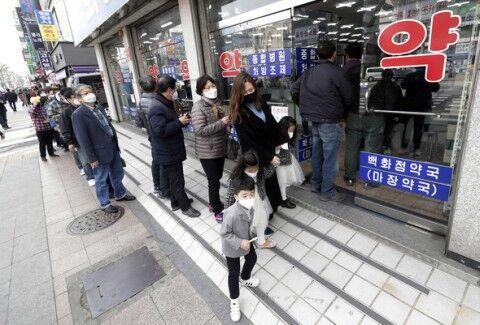 バ韓国でマスクを買えない外国人が急増中