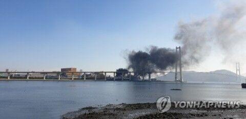 バ韓国の爆発事故。死者が出てないのでやり直し求ム