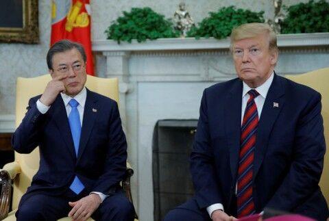 バ韓国のキチガイぶりに呆れるトランプ大統領