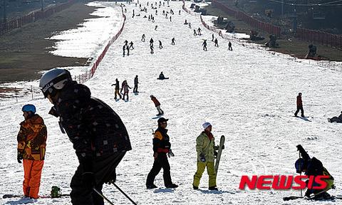 とてもスキー場とは言えないレベル