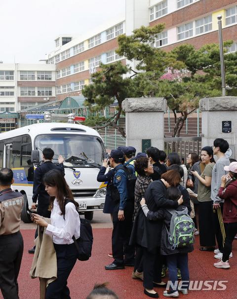 バ韓国・小学校での人質事件