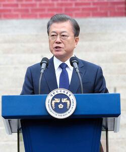 乞食の分際で上から目線のバ韓国・文大統領