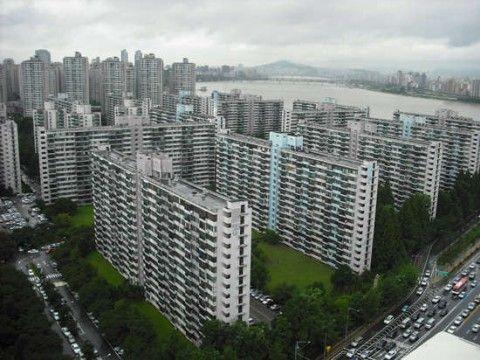 バ韓国のマンションは低能建築そのもの