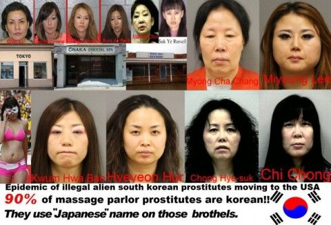 アメリカで日本人のフリするバ韓国塵売春婦ども