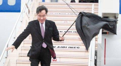 日本の神風にも嫌われているバ韓国の首相