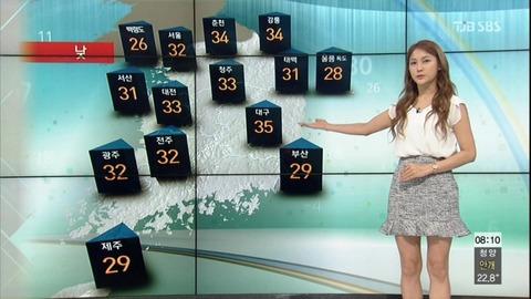 誤報の批判に耐えかねて、バ韓国気象庁が一部サービスを中止
