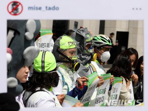 マスクをしていても醜いバ韓国塵ども
