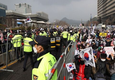 バ韓国の集会でゲイコロナの感染拡大間違いなし