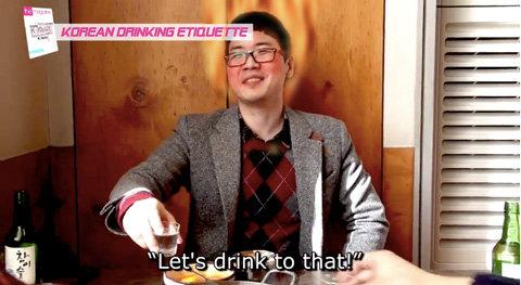 ウンコ酒をこよなく愛するバ韓国塵