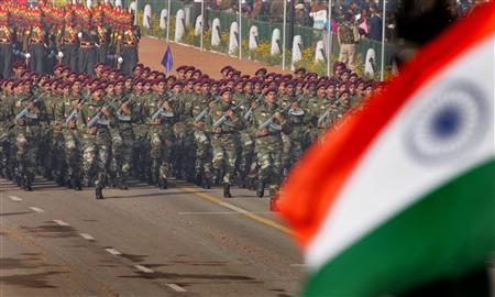 中国の脅威にさらされているインド