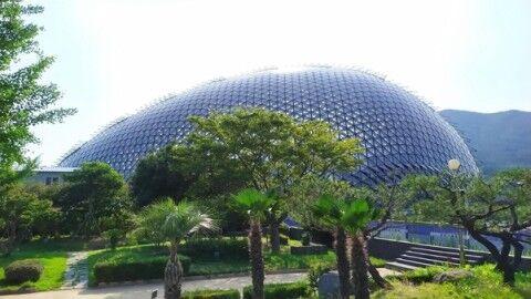 バ韓国にオープンした植物園