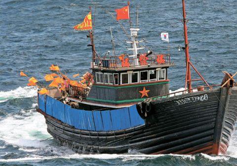またしてもバ韓国が中国漁船をだ捕