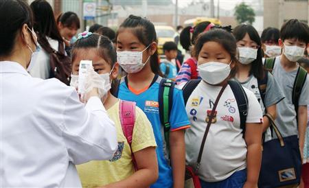 MERS感染者のリストが流出したバ韓国