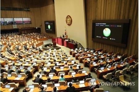 バ韓国国会が全会一致で日本糾弾