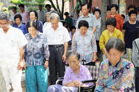 バ韓国在住の自称被爆者ども