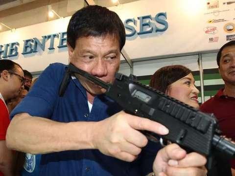 バ韓国塵を射殺すると警告したフィリピンのドゥテルテ大統領