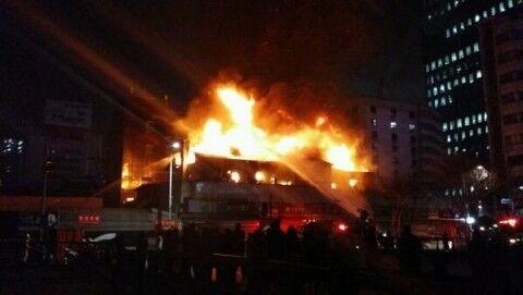 放火と火事場泥棒はバ韓国の国技です