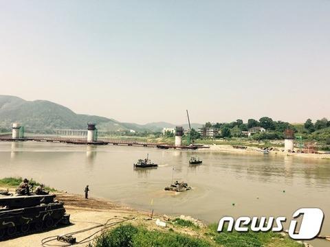 北朝鮮のダム放流でバ韓国側に被害発生