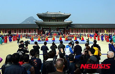妄想で再現されたバ韓国の任命式