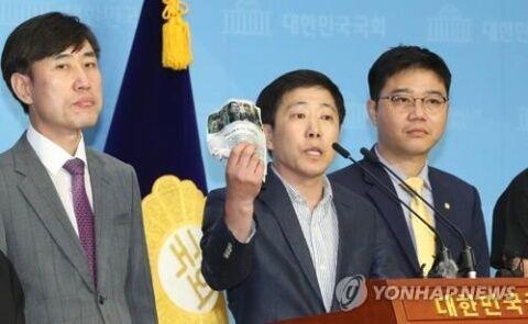 ビラ散布団体を告発するバ韓国政府