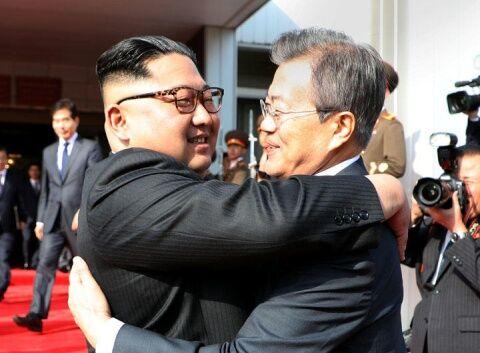 バ韓国は北朝鮮に擦り寄るのに命がけ