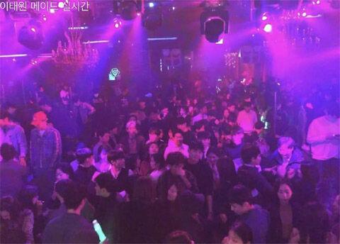 バ韓国のクラブで大邱コロナ集団感染