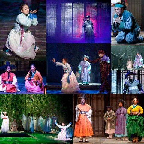 幼稚園の学芸会並みww バ韓国のオペラ団